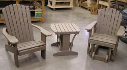 NEW! -- Polywood Adirondack furniture -- NEW!
