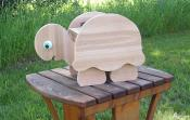 Click to enlarge image Turtle unstained - Cedar flower pot planters - Oh my Gosh!!!! They are so darn cute