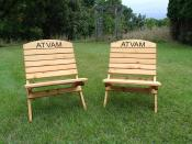 Click to enlarge image ATV Association of Minnesota camp chairs - Personalize your chair -