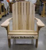 Click to enlarge image Big Boy Adirondack Chair - Personalize your chair -